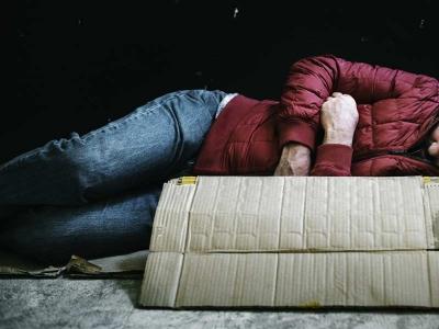 bed for homeless