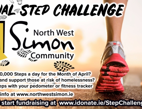Step Challenge for North West Simon Community in April